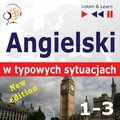 audiobooki: Angielski w typowych sytuacjach. 1-3 - New Edition: A Month in Brighton + Holiday Travels + Business English: (47 tematów na poziomie B1-B2) - audiobook